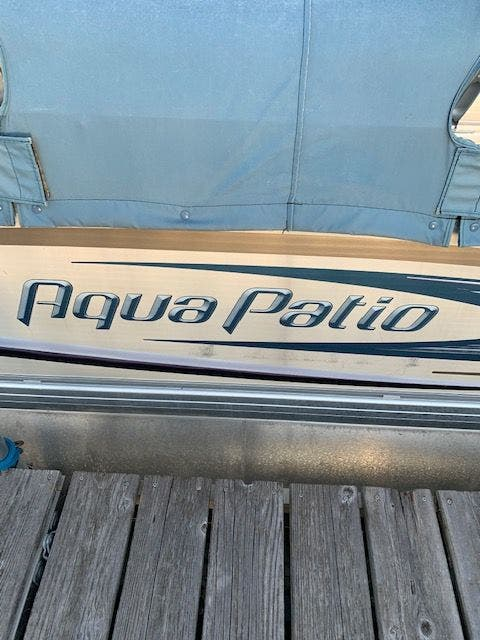 2007 Aqua Patio boat for sale, model of the boat is 180RE & Image # 6 of 34