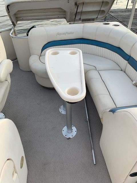 2007 Aqua Patio boat for sale, model of the boat is 180RE & Image # 12 of 34