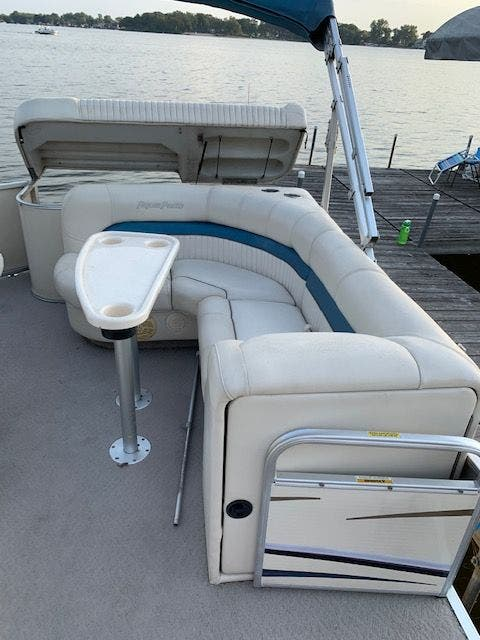 2007 Aqua Patio boat for sale, model of the boat is 180RE & Image # 13 of 34