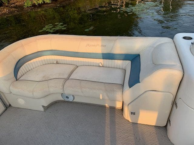 2007 Aqua Patio boat for sale, model of the boat is 180RE & Image # 19 of 34