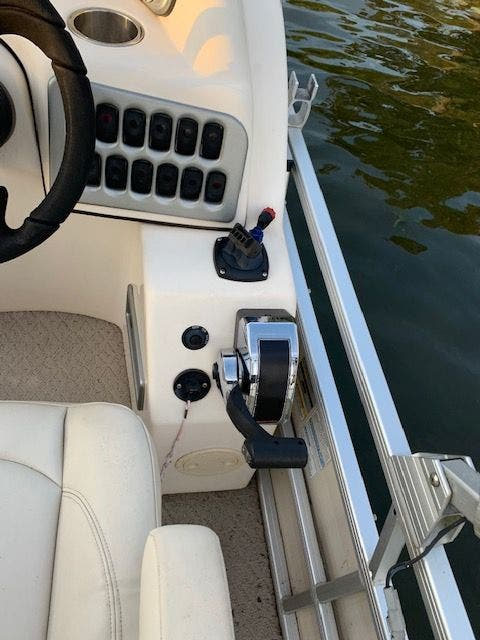 2007 Aqua Patio boat for sale, model of the boat is 180RE & Image # 25 of 34