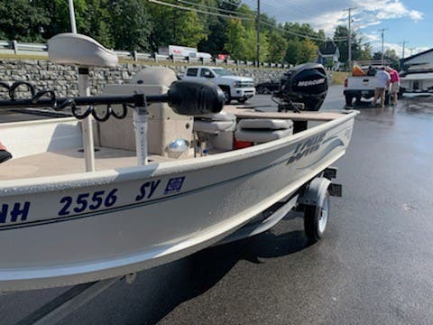 2007 Lowe boat for sale, model of the boat is ANGLER 140S & Image # 5 of 6