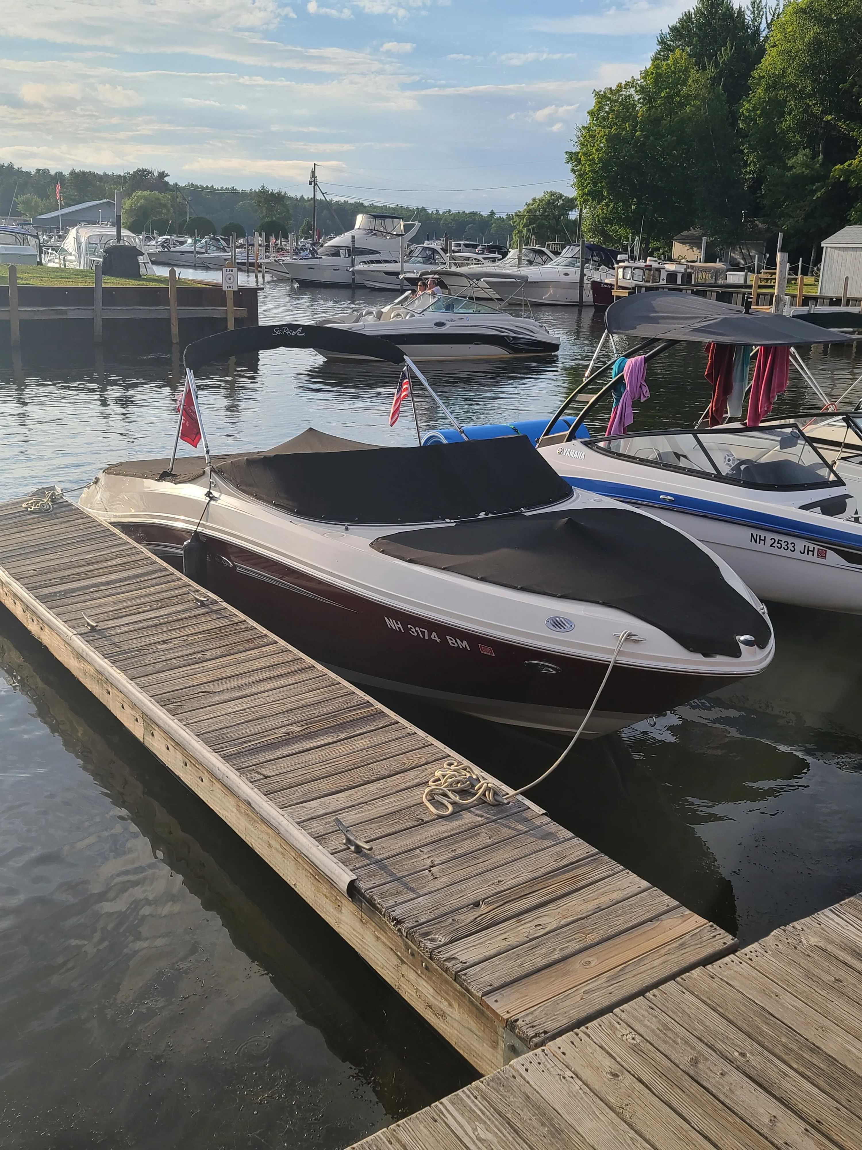 2007 Sea Ray boat for sale, model of the boat is 230 Select & Image # 4 of 6