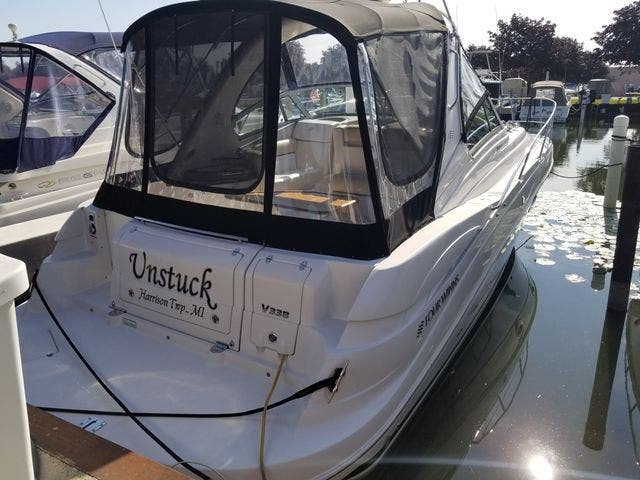 2008 Four Winns boat for sale, model of the boat is 338 VISTA & Image # 9 of 41
