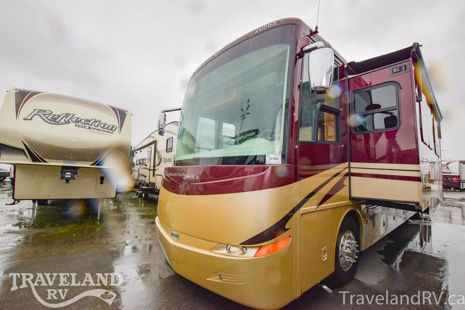 2008 Newmar Mountain Aire MADP 4528