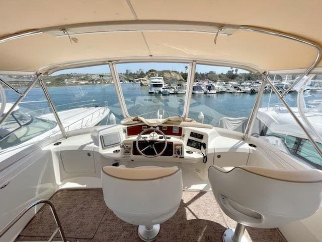 2008 Silverton boat for sale, model of the boat is 36 CONVERTIBLE & Image # 3 of 6