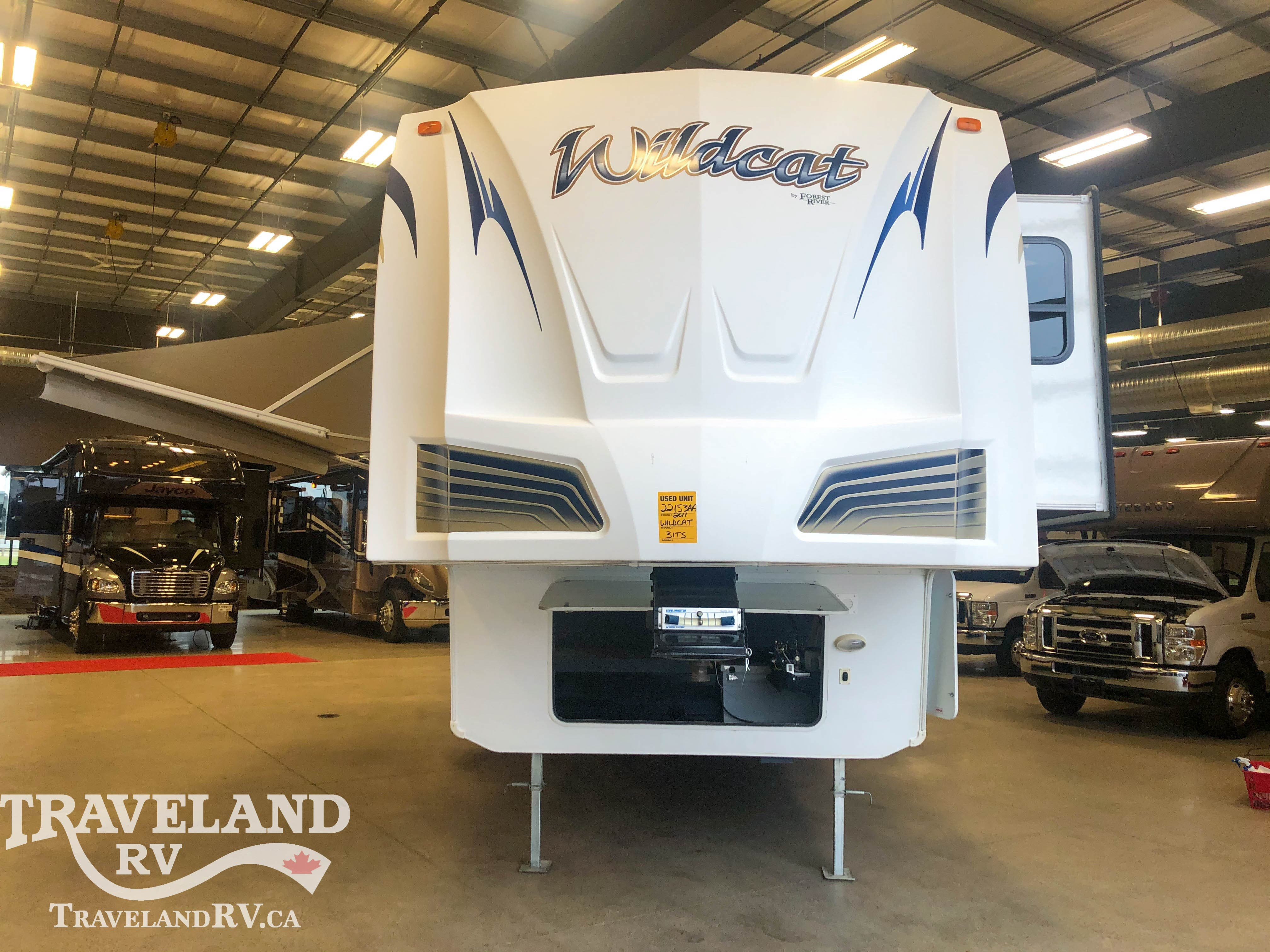 2011 Forest River Wild Cat 31TS Thumbnail