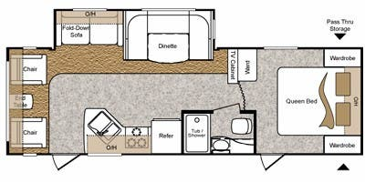 2011_keystone_passport_2850rl_floorplan