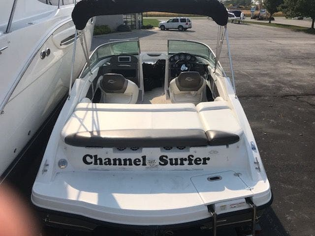 2012 Rinker boat for sale, model of the boat is 196 BOW RIDER & Image # 27 of 29