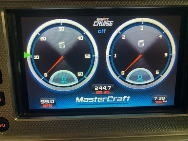 2013 Mastercraft boat for sale, model of the boat is X-START & Image # 8 of 13