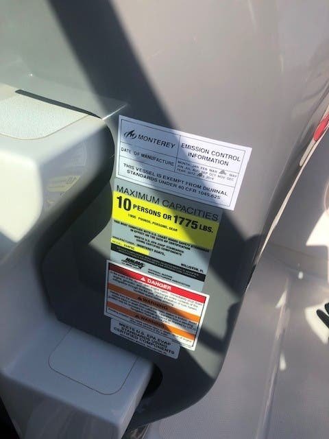 2013 Monterey boat for sale, model of the boat is 224 FSC CD & Image # 10 of 11