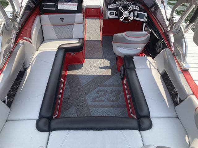 2015 Mastercraft boat for sale, model of the boat is X23 & Image # 10 of 19
