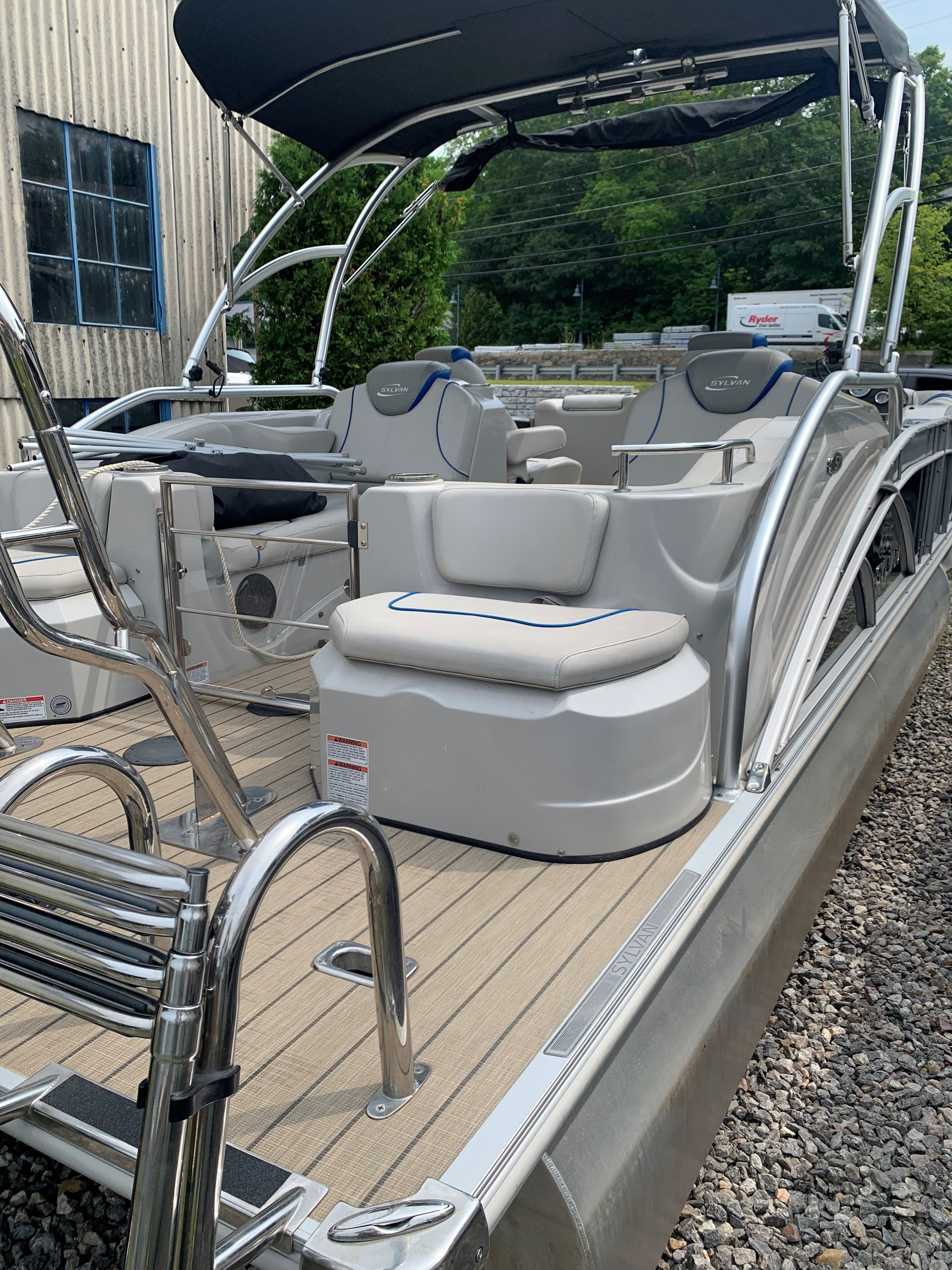 2015 Sylvan boat for sale, model of the boat is S3 & Image # 6 of 8