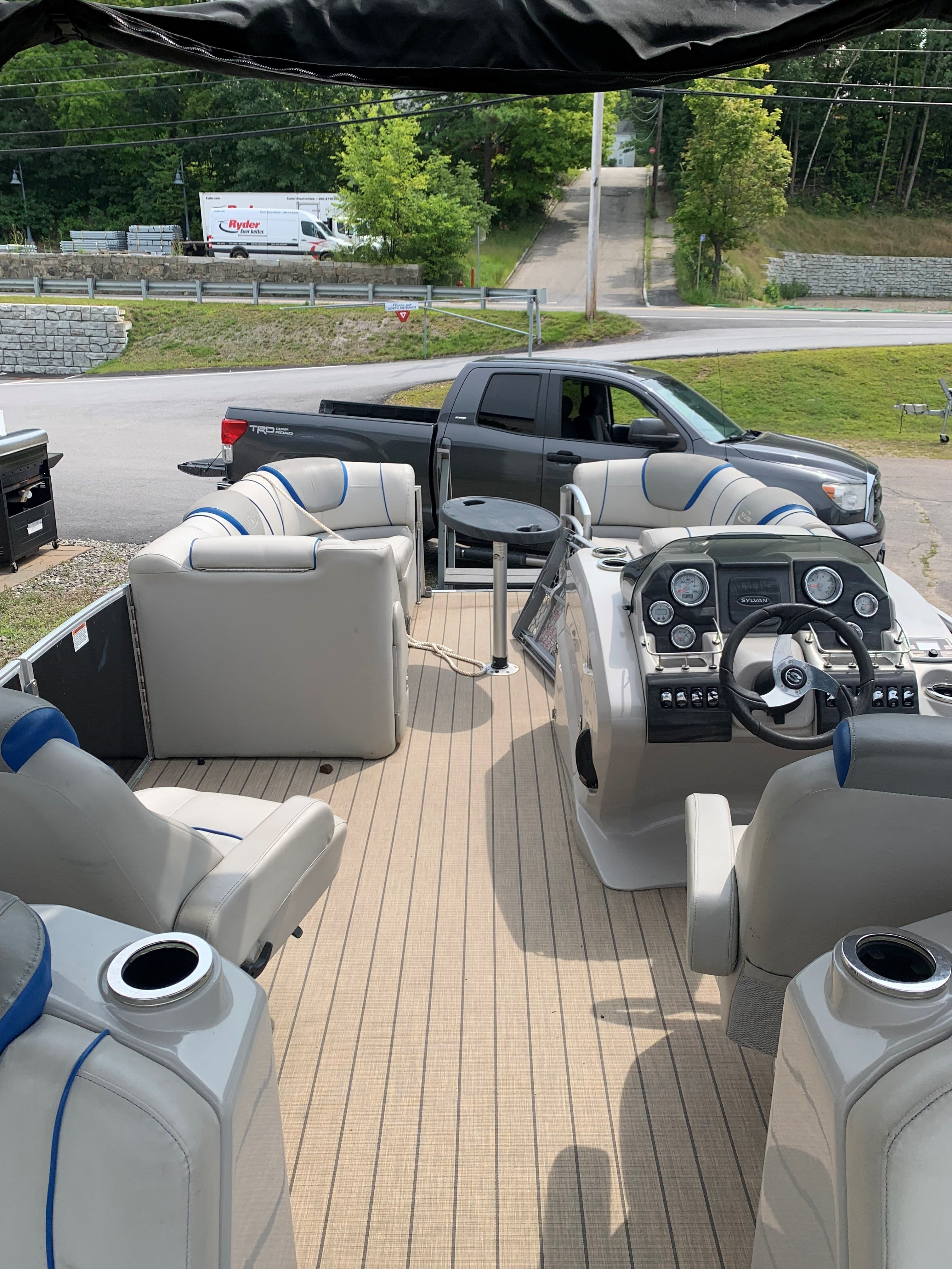 2015 Sylvan boat for sale, model of the boat is S3 & Image # 4 of 8