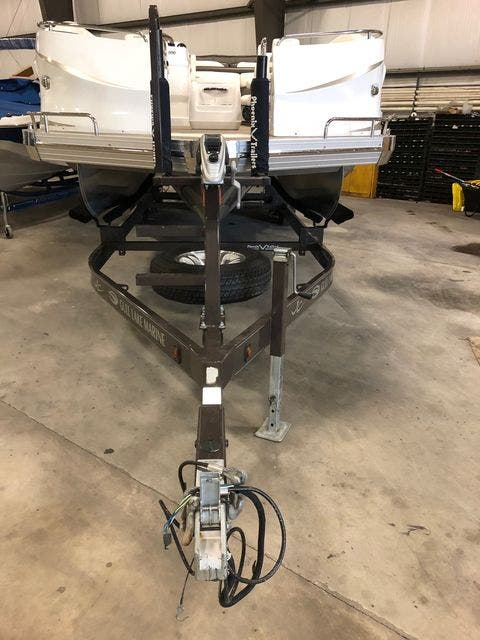 2016 JC boat for sale, model of the boat is 266 TRI-TOON & Image # 22 of 24