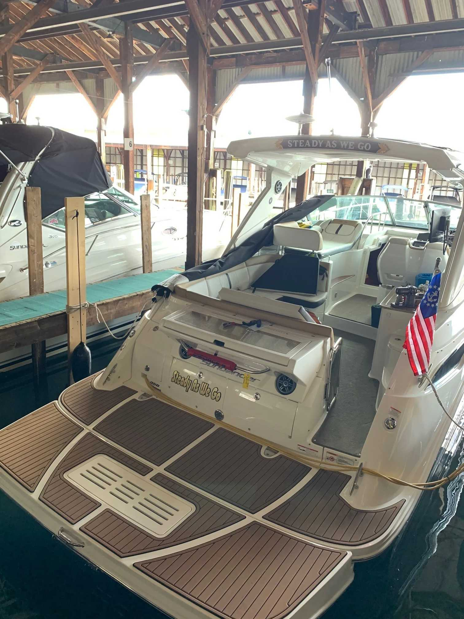 2016 Sea Ray boat for sale, model of the boat is 350 Sundancer & Image # 16 of 17