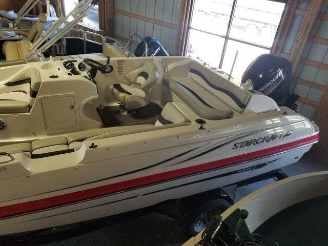 2017 Starcraft boat for sale, model of the boat is 1915Limited/OB & Image # 5 of 7