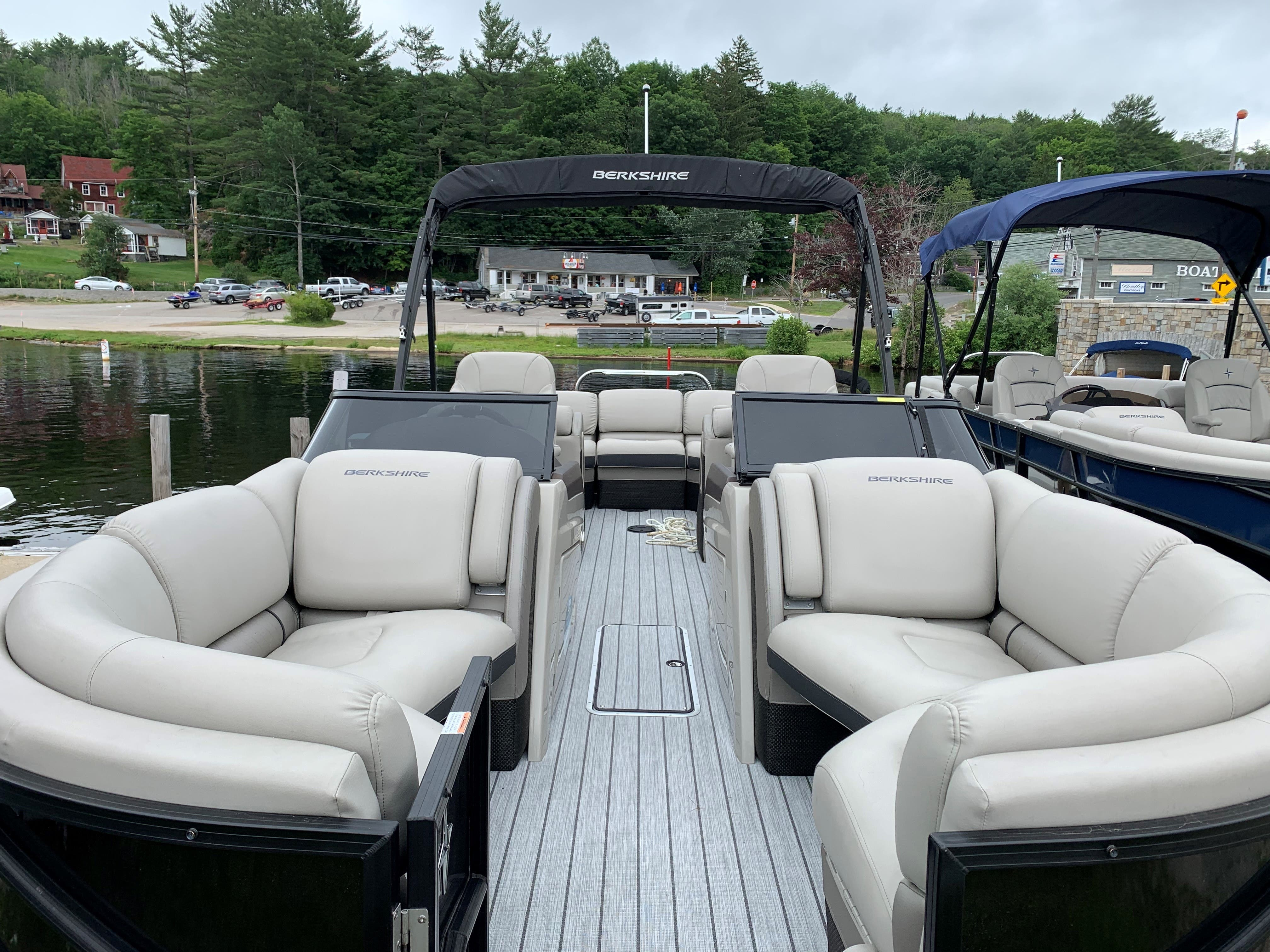 2019 Berkshire Pontoons boat for sale, model of the boat is 23rfx-dc Sts & Image # 3 of 13