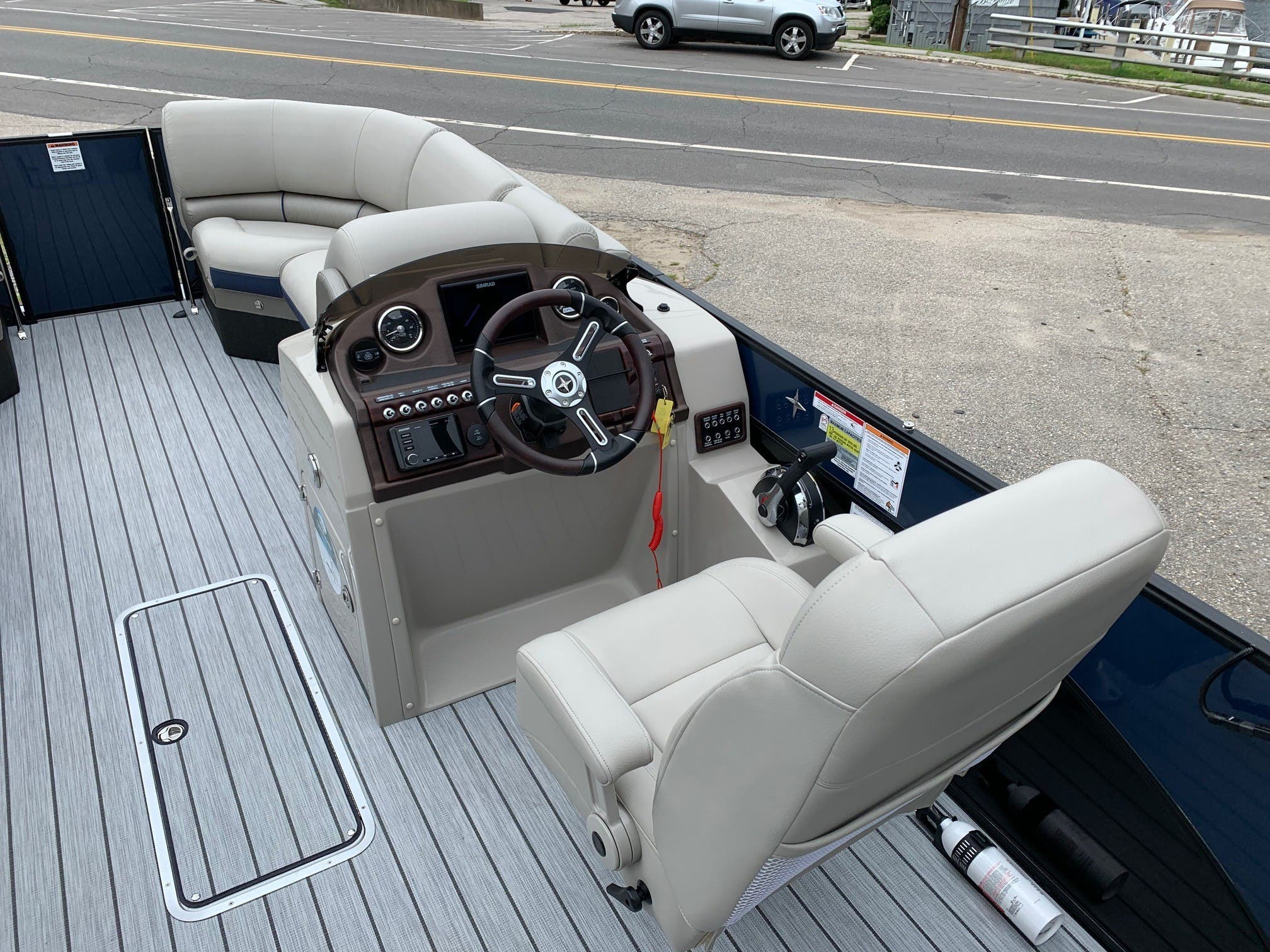 2020 Berkshire Pontoons boat for sale, model of the boat is 23rfx Sts & Image # 10 of 11