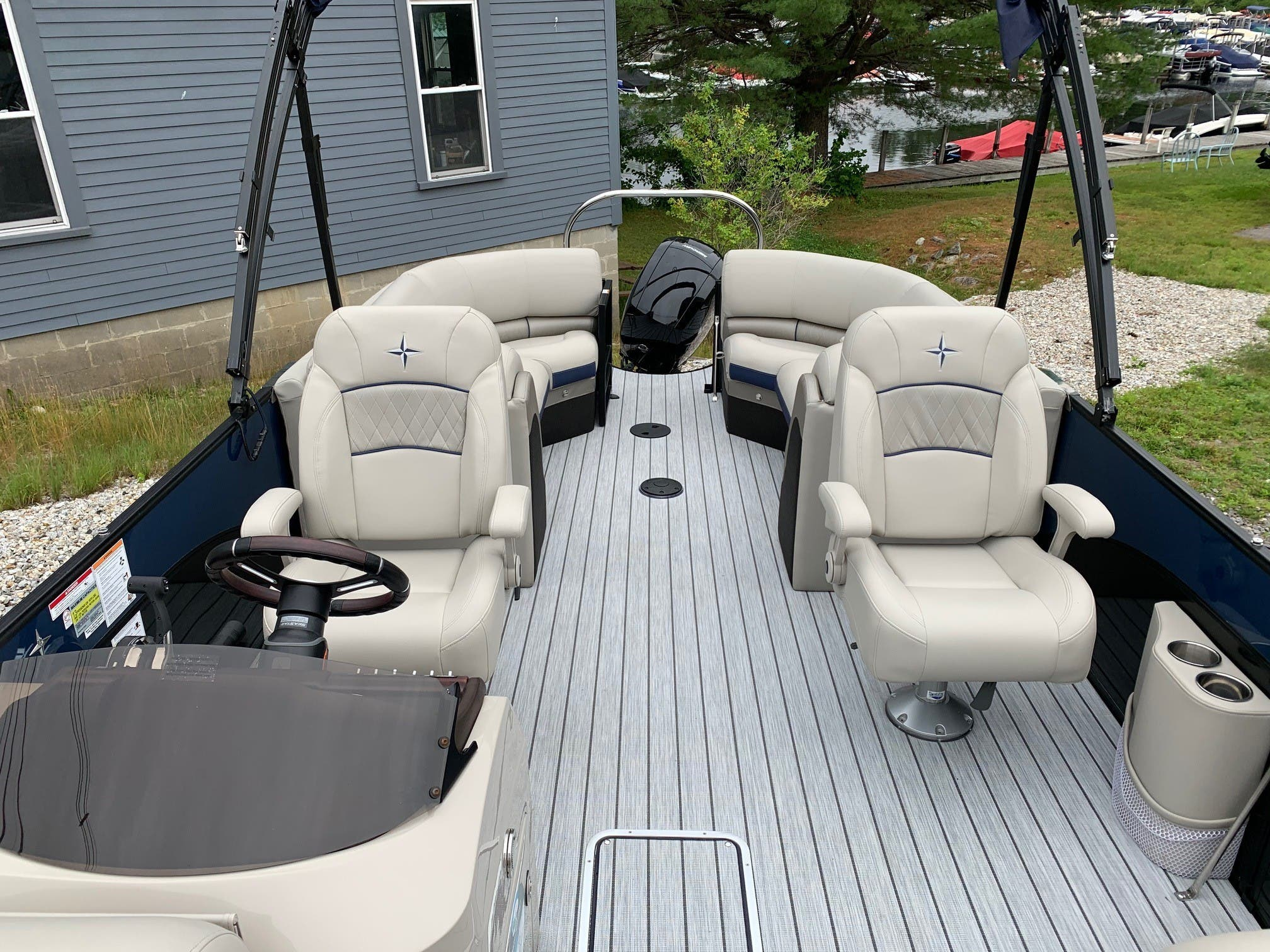 2020 Berkshire Pontoons boat for sale, model of the boat is 23rfx Sts & Image # 8 of 11