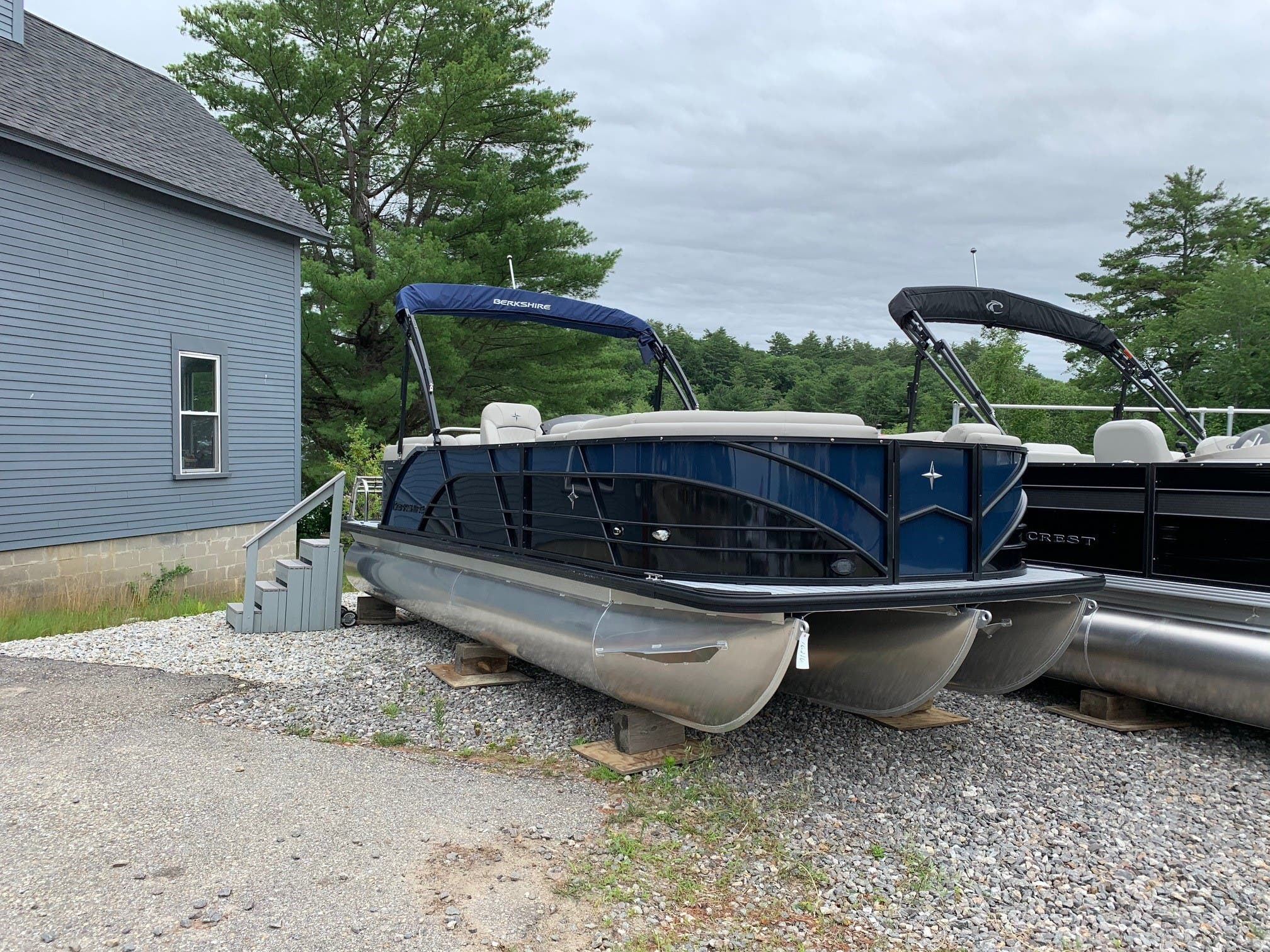 2020 Berkshire Pontoons boat for sale, model of the boat is 23rfx Sts & Image # 4 of 11