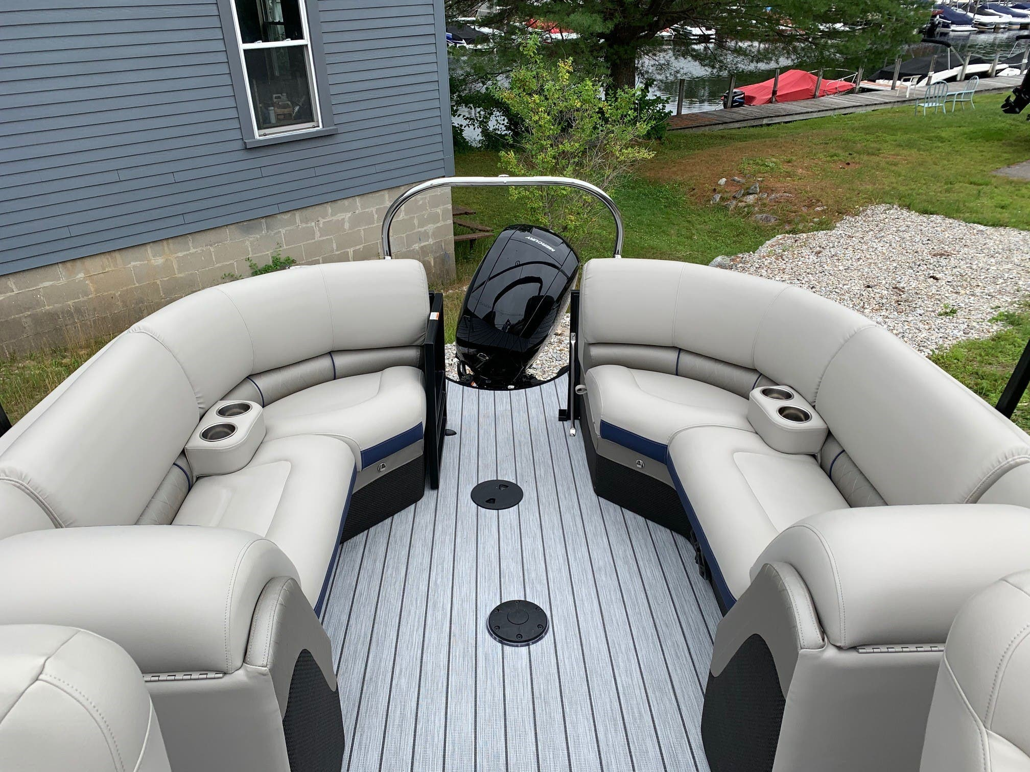2020 Berkshire Pontoons boat for sale, model of the boat is 23rfx Sts & Image # 11 of 11