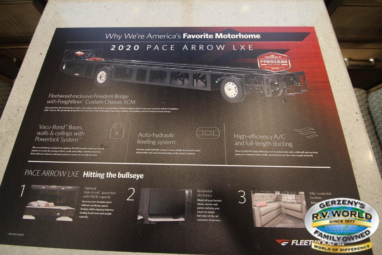 2020 Fleetwood Pace Arrow LXE 38F Thumbnail