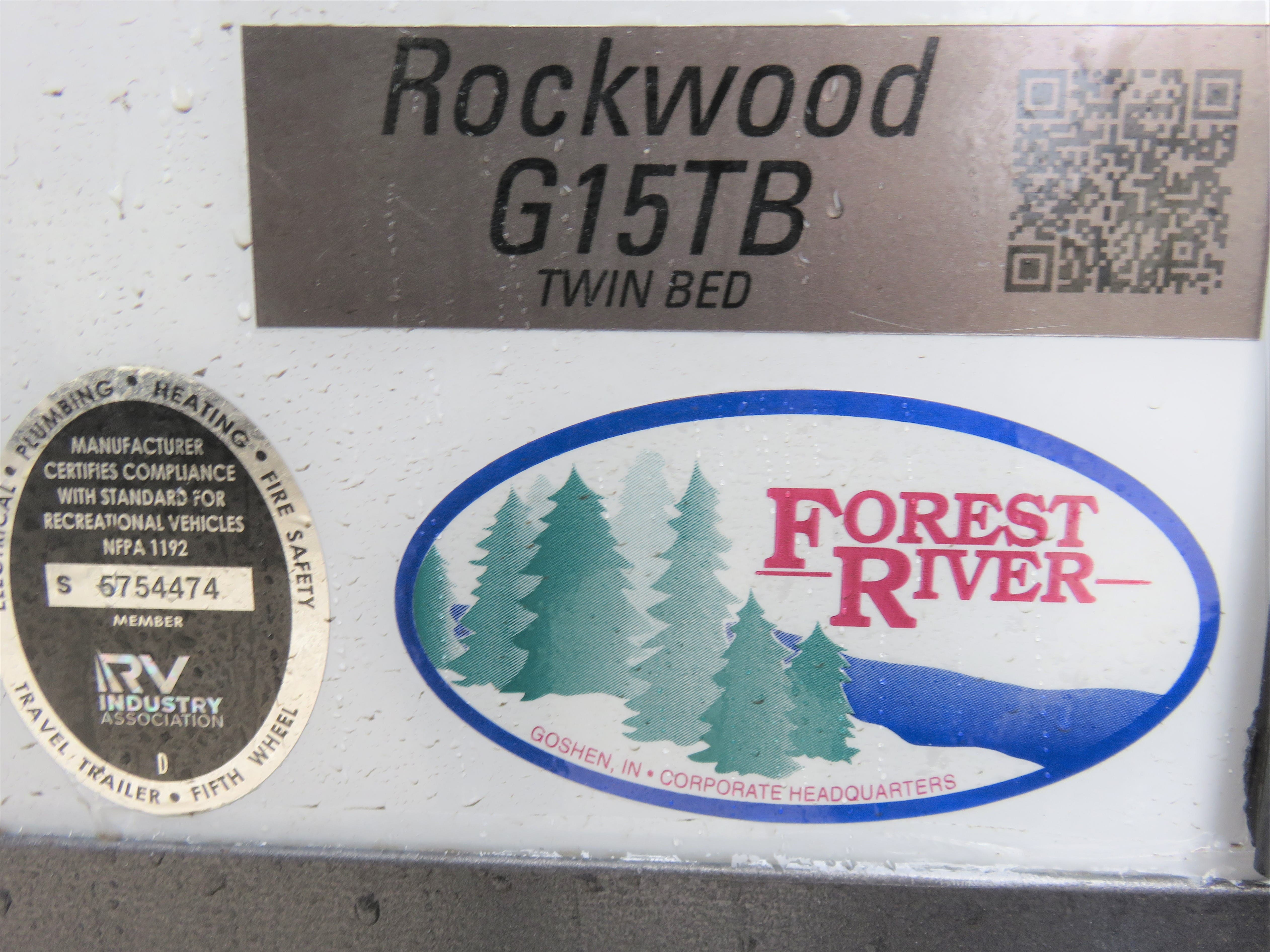 2020 Forest River Rockwood GEO PRO G15TB Thumbnail