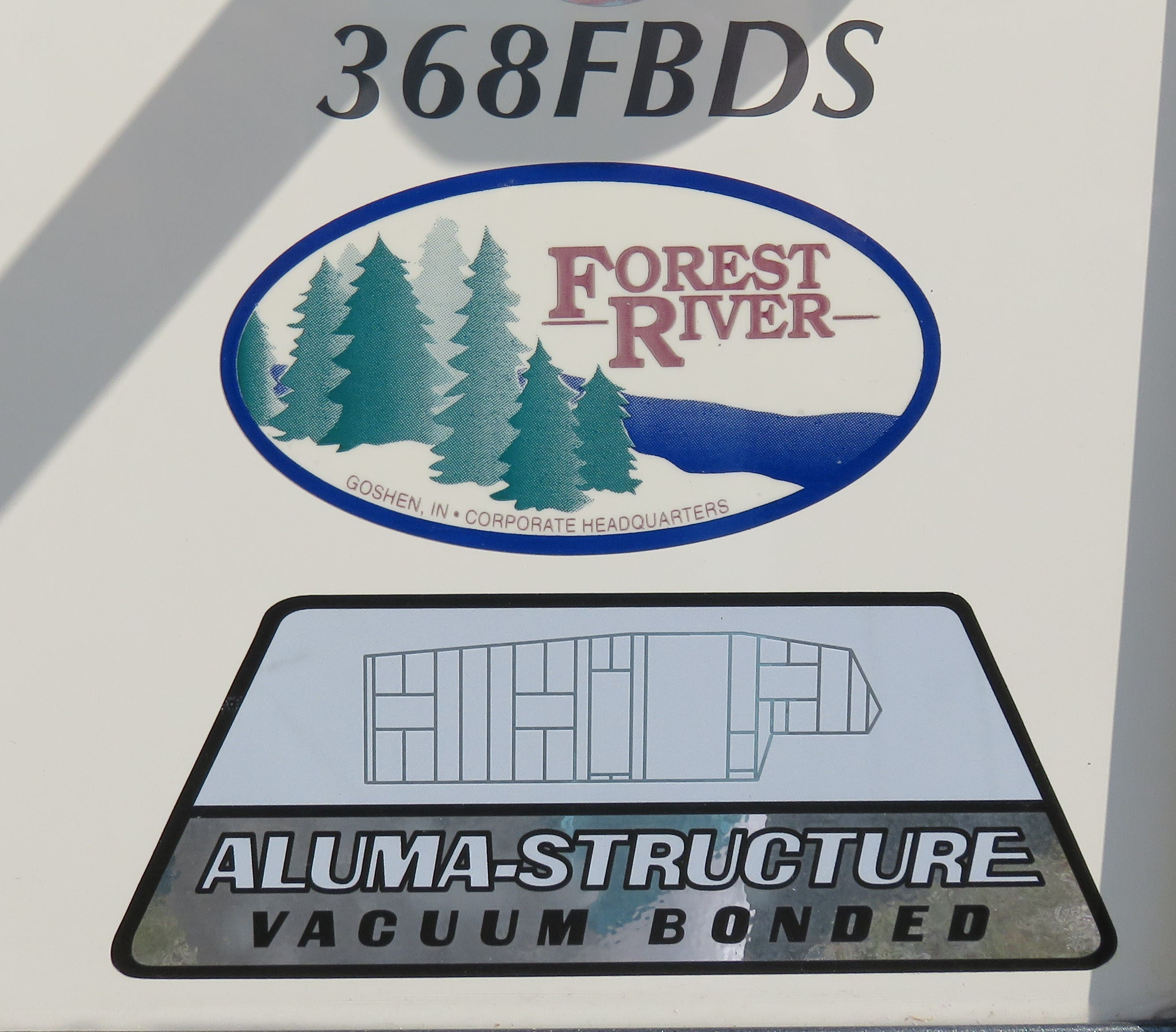 2020 Forest River Sierra 368FBDS Thumbnail