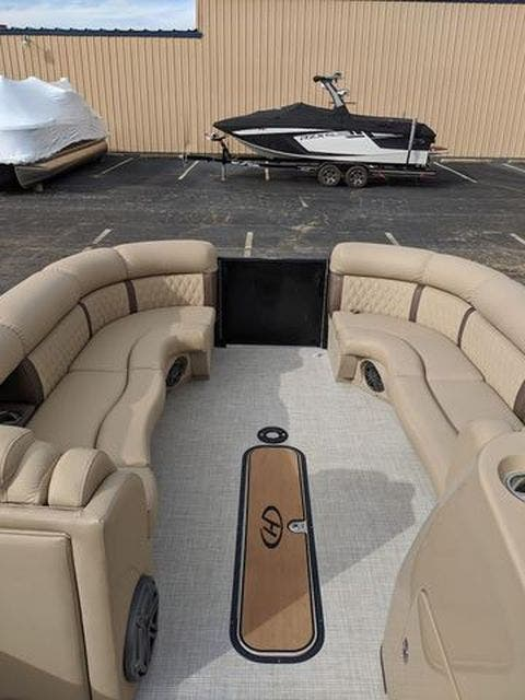 2020 Harris boat for sale, model of the boat is 250Sun/CWDH/TT & Image # 4 of 15