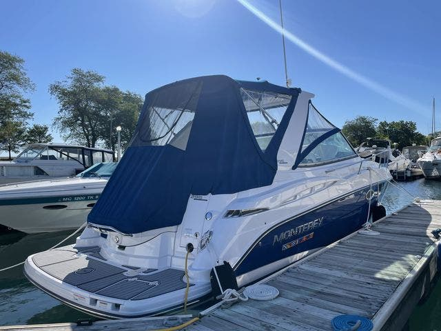 2020 Monterey boat for sale, model of the boat is 295 SPORT YACHT & Image # 3 of 17