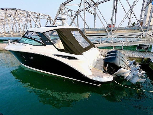 2020 Sea Ray boat for sale, model of the boat is 320DAO & Image # 5 of 29