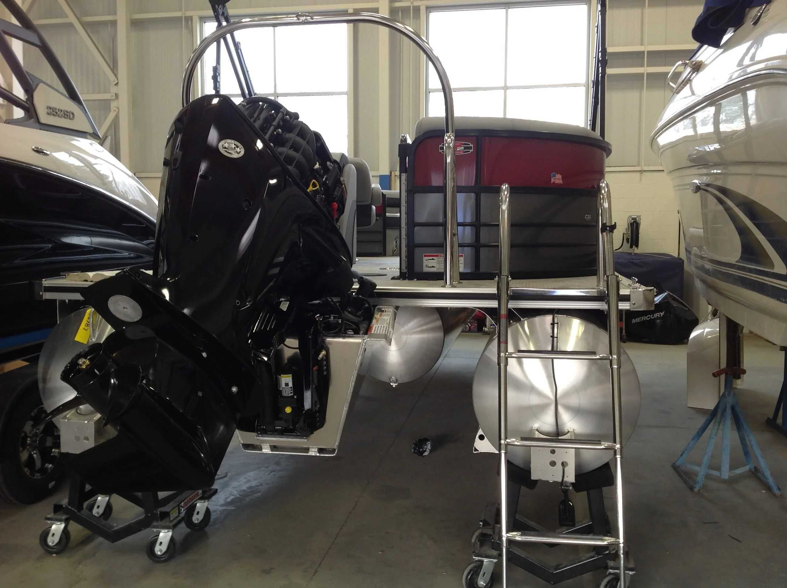 2021 Berkshire Pontoons boat for sale, model of the boat is 22rfx Cts & Image # 14 of 16