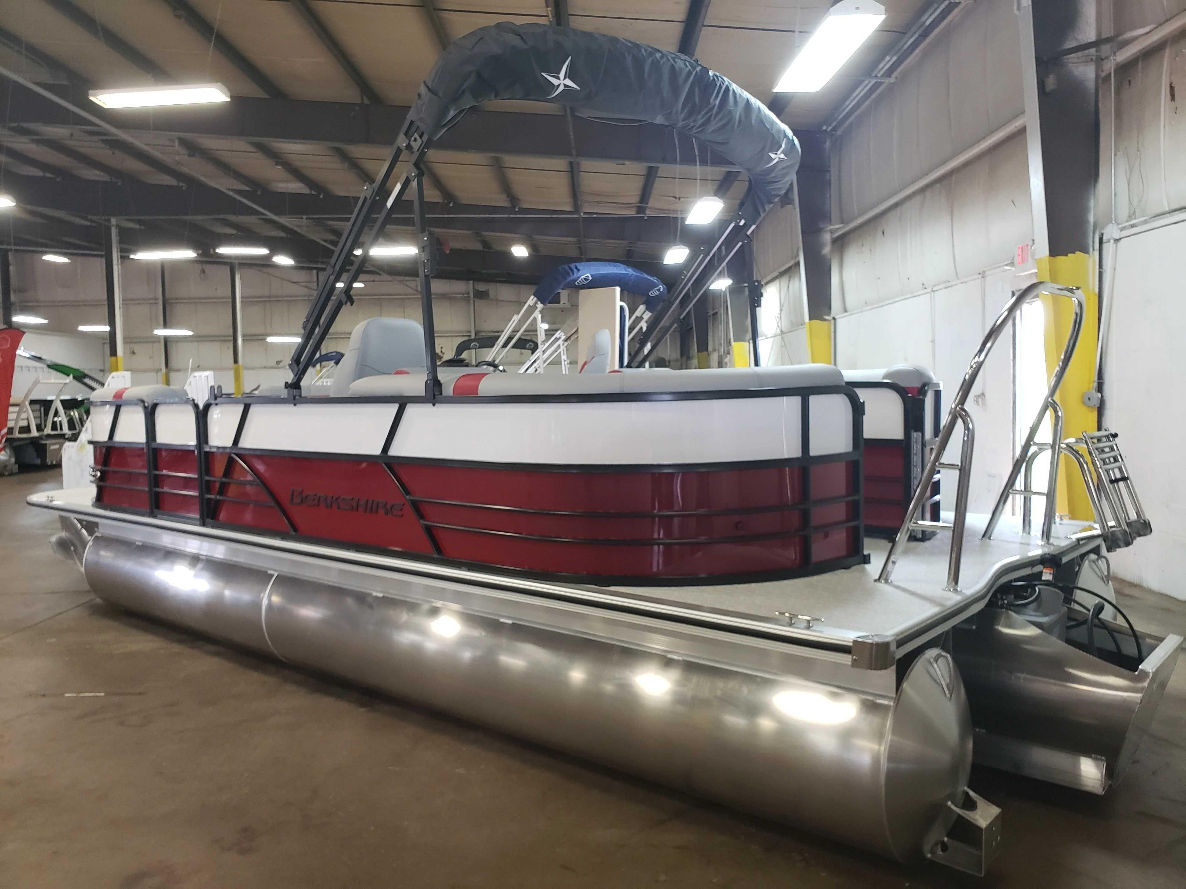 2021 Berkshire Pontoons boat for sale, model of the boat is 24rfx Cts & Image # 3 of 7
