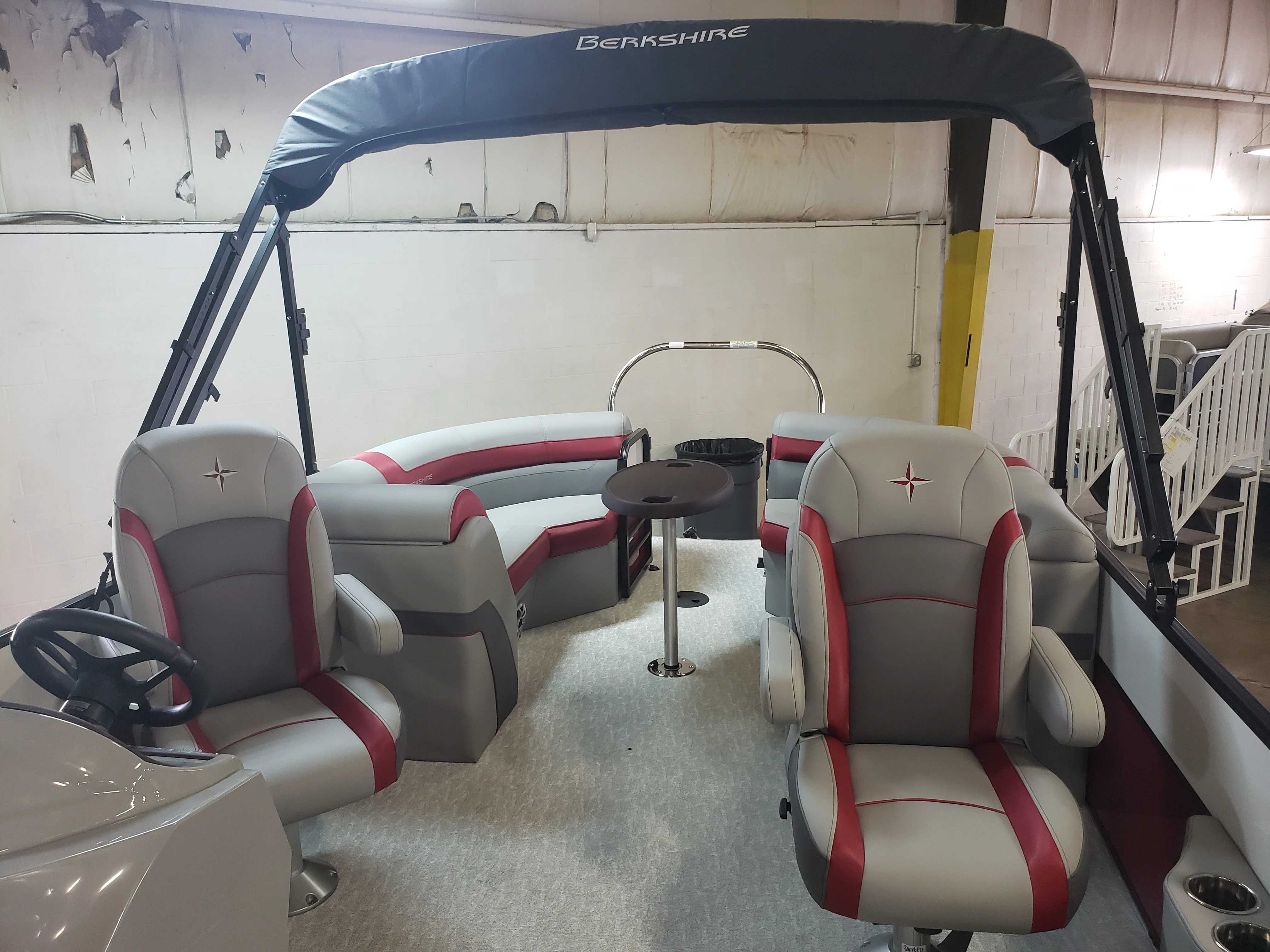 2021 Berkshire Pontoons boat for sale, model of the boat is 24rfx Cts & Image # 6 of 7