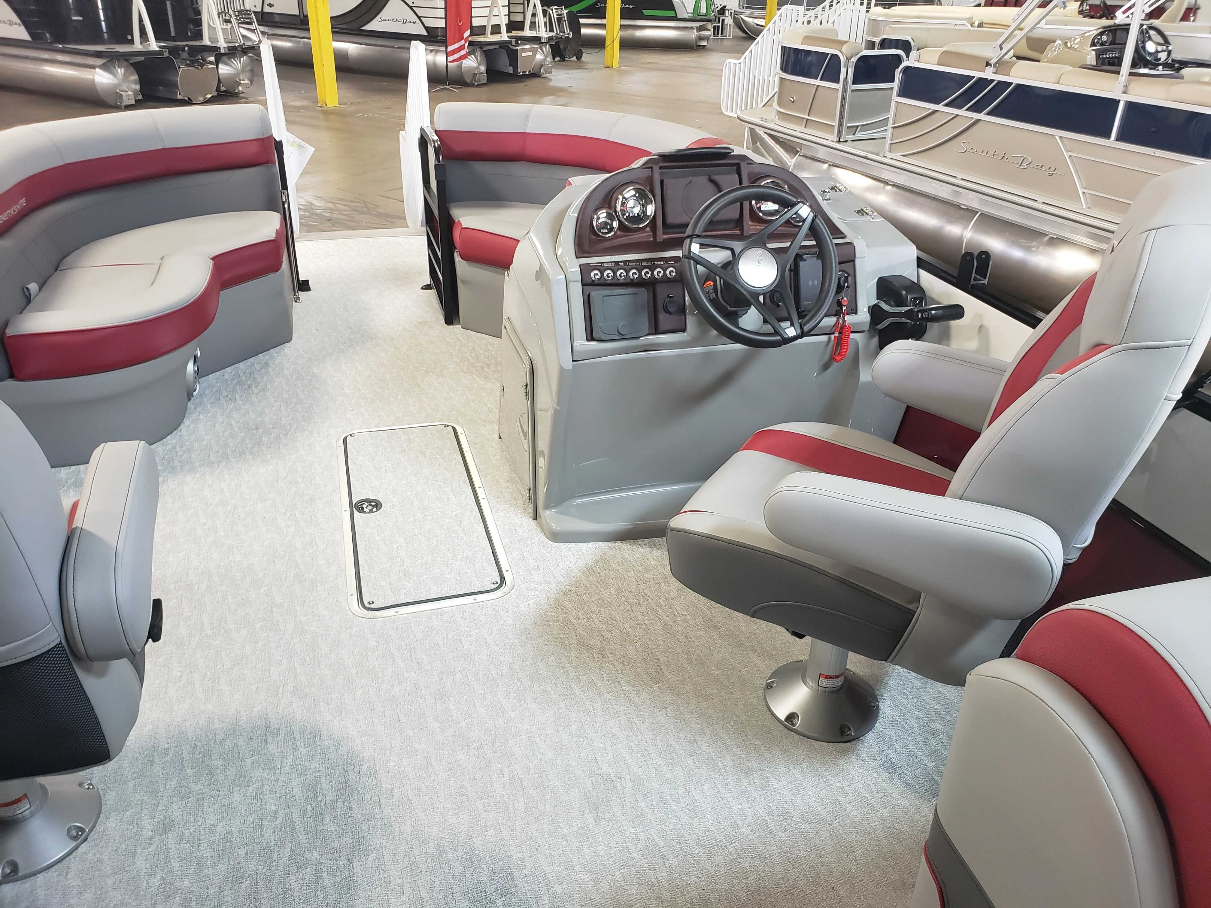 2021 Berkshire Pontoons boat for sale, model of the boat is 24rfx Cts & Image # 7 of 7