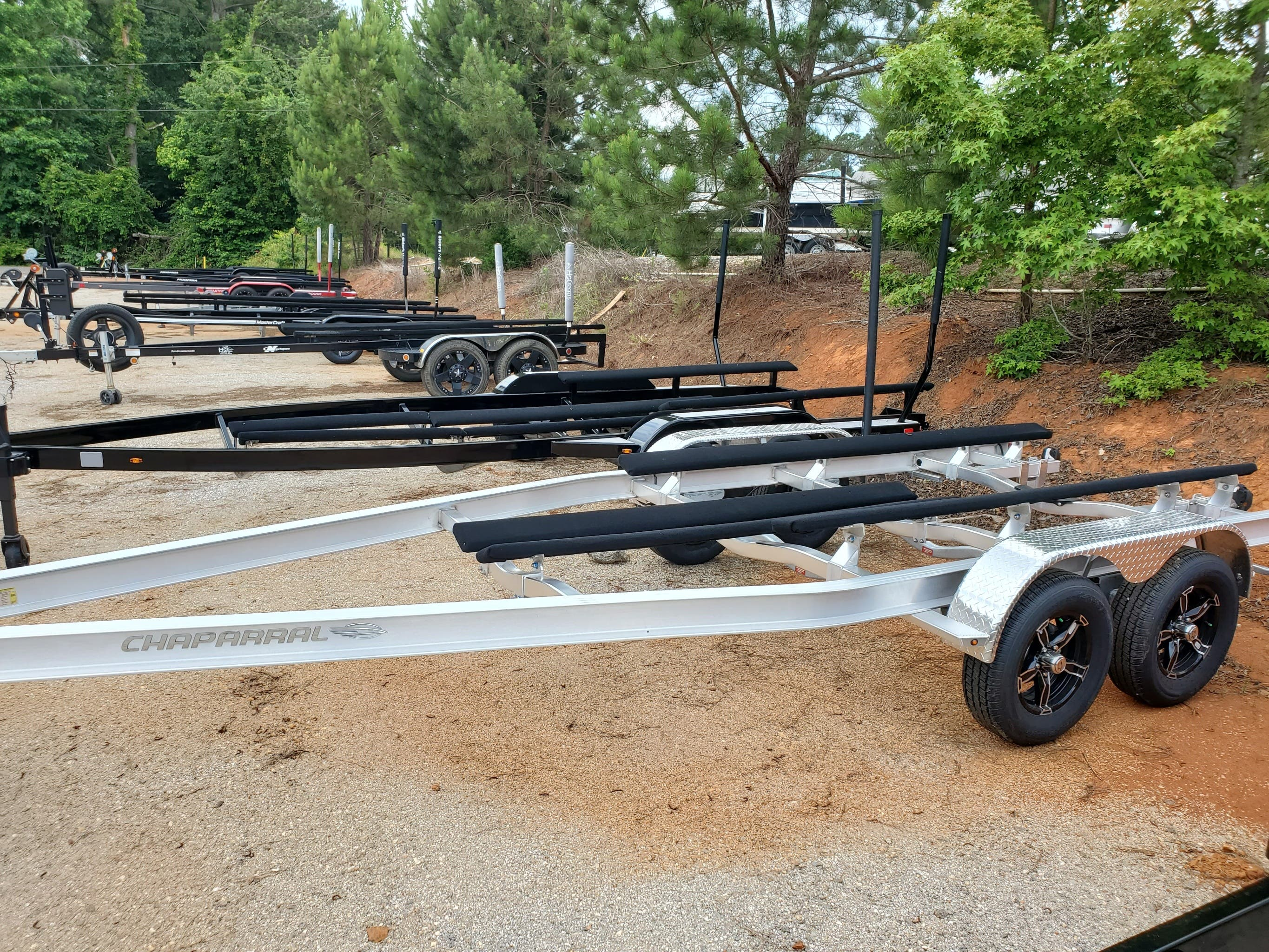 2021 Coyote Mfg Co 26 SURF TANDEM AXLE TRAILER