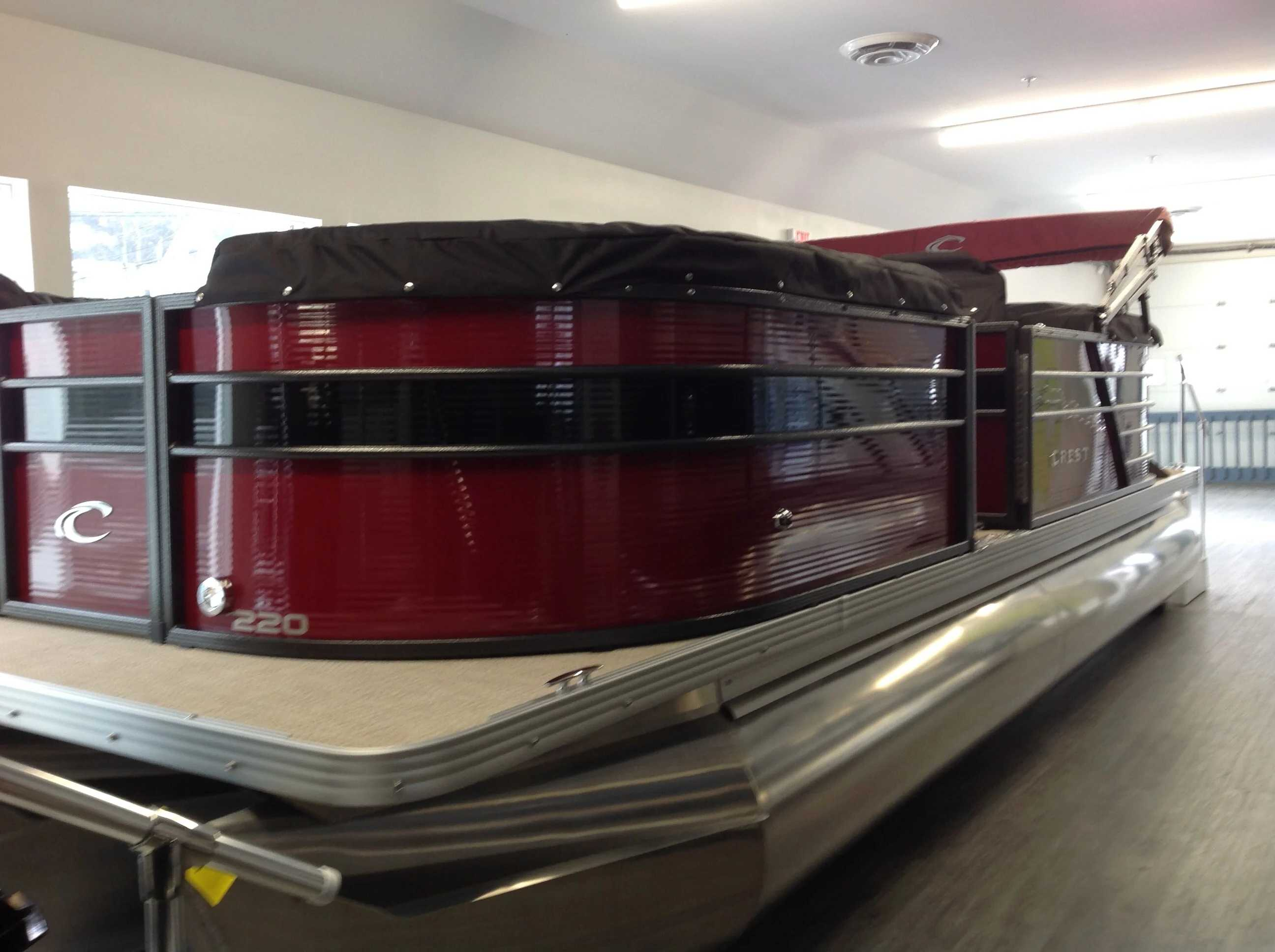 2021 Crest boat for sale, model of the boat is Cl Dlx 220slc & Image # 3 of 15