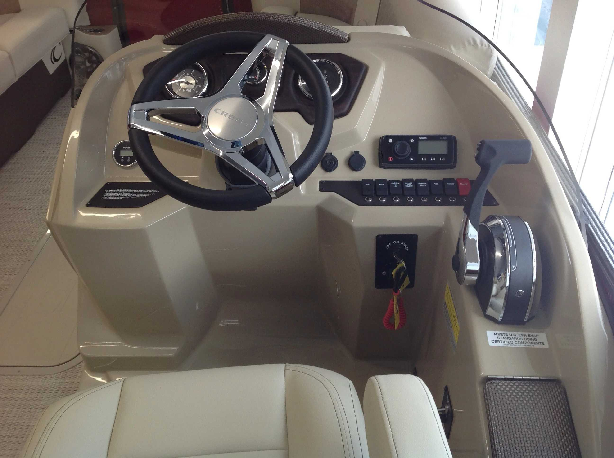 2021 Crest boat for sale, model of the boat is Cl Dlx 220slc & Image # 9 of 15