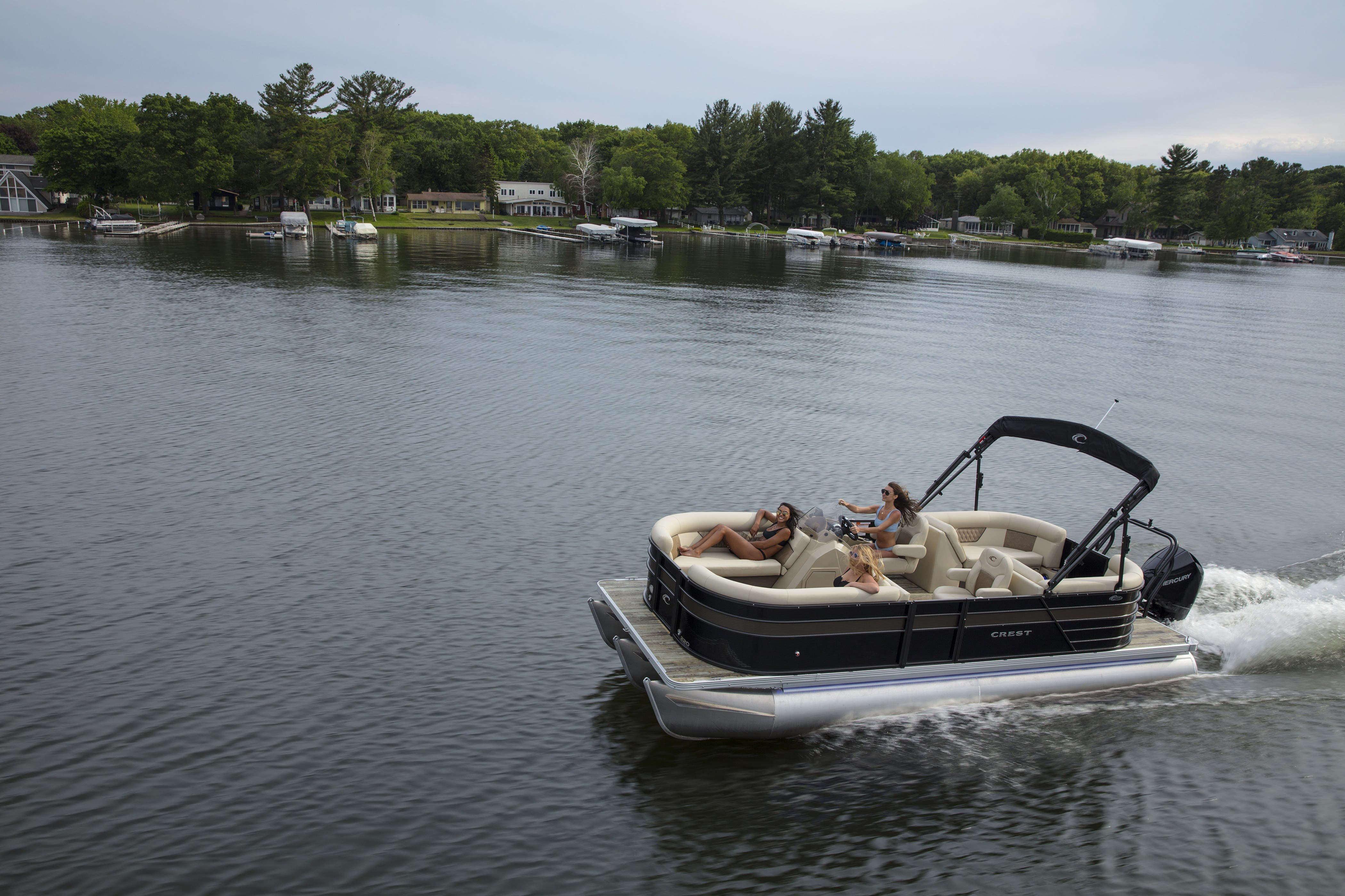 2021 Crest boat for sale, model of the boat is CL DLX & Image # 14 of 14