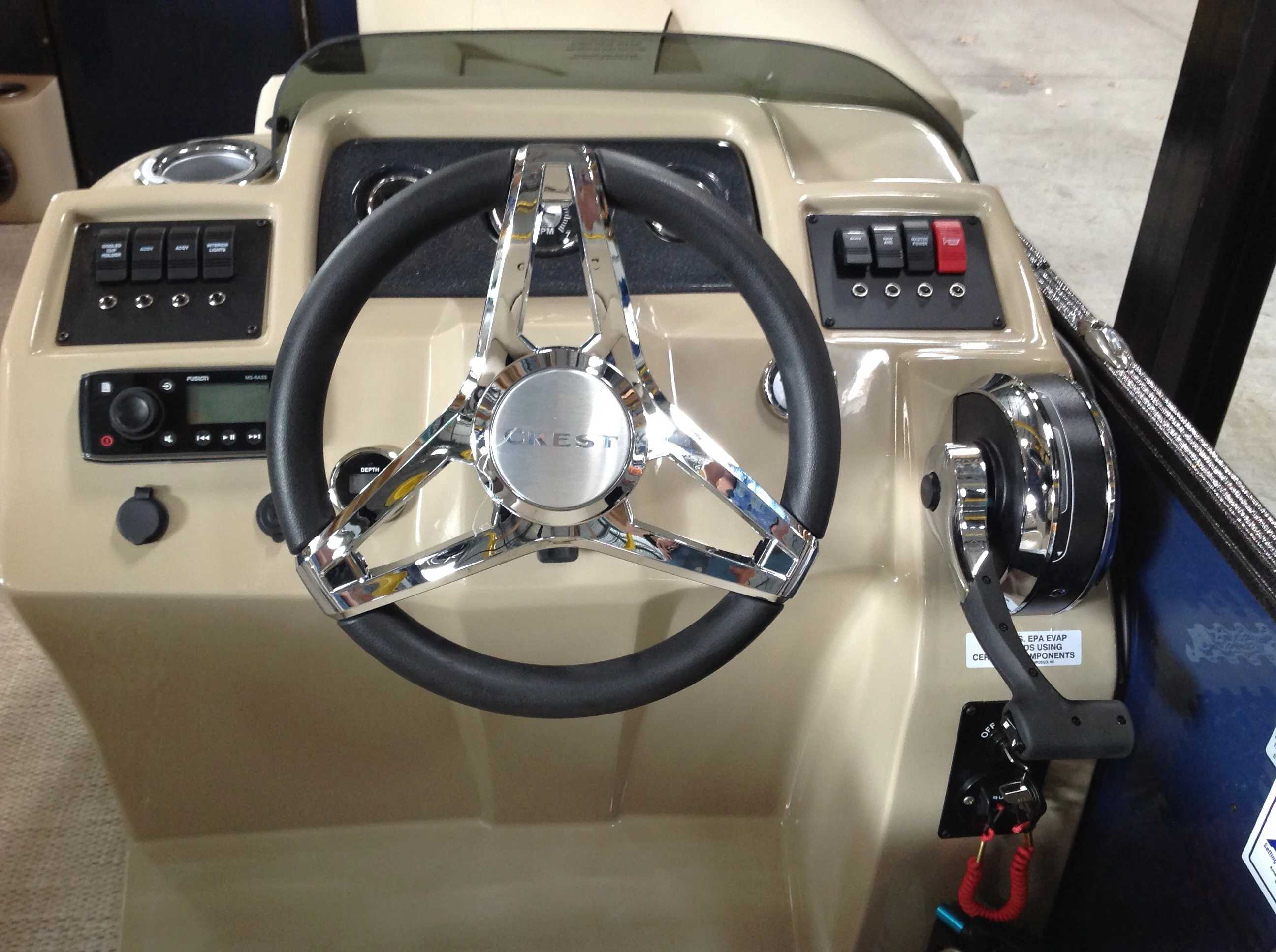 2021 Crest boat for sale, model of the boat is Cl Lx 200slc & Image # 8 of 13