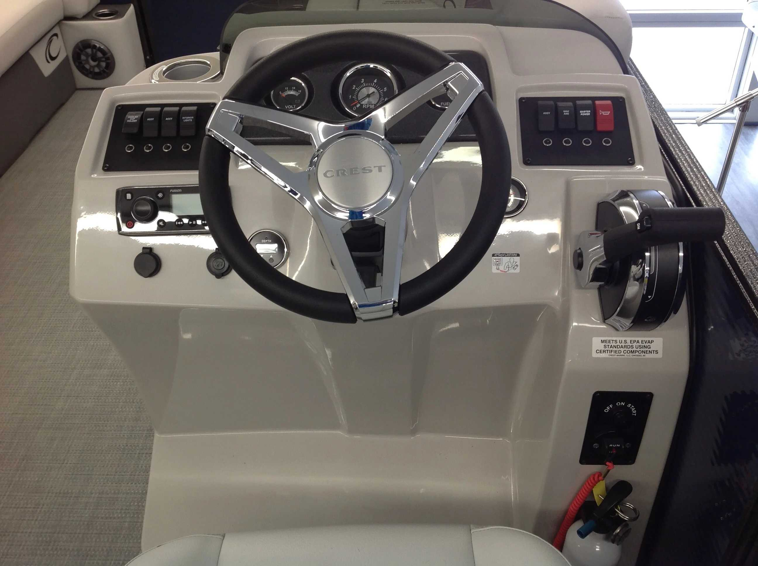2021 Crest boat for sale, model of the boat is Cl Lx 220slc & Image # 7 of 13