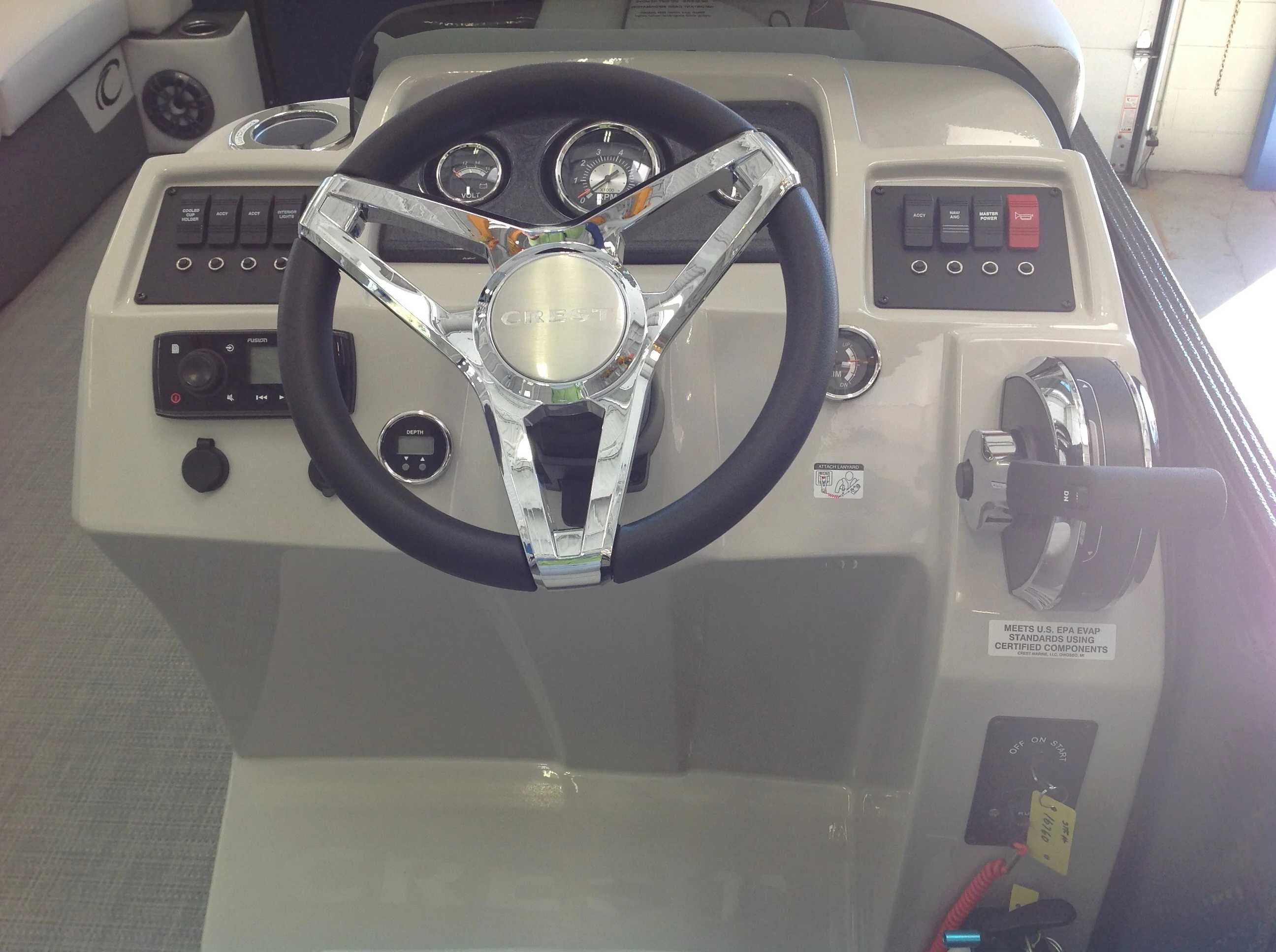 2021 Crest boat for sale, model of the boat is Cl Lx 220slc & Image # 10 of 15