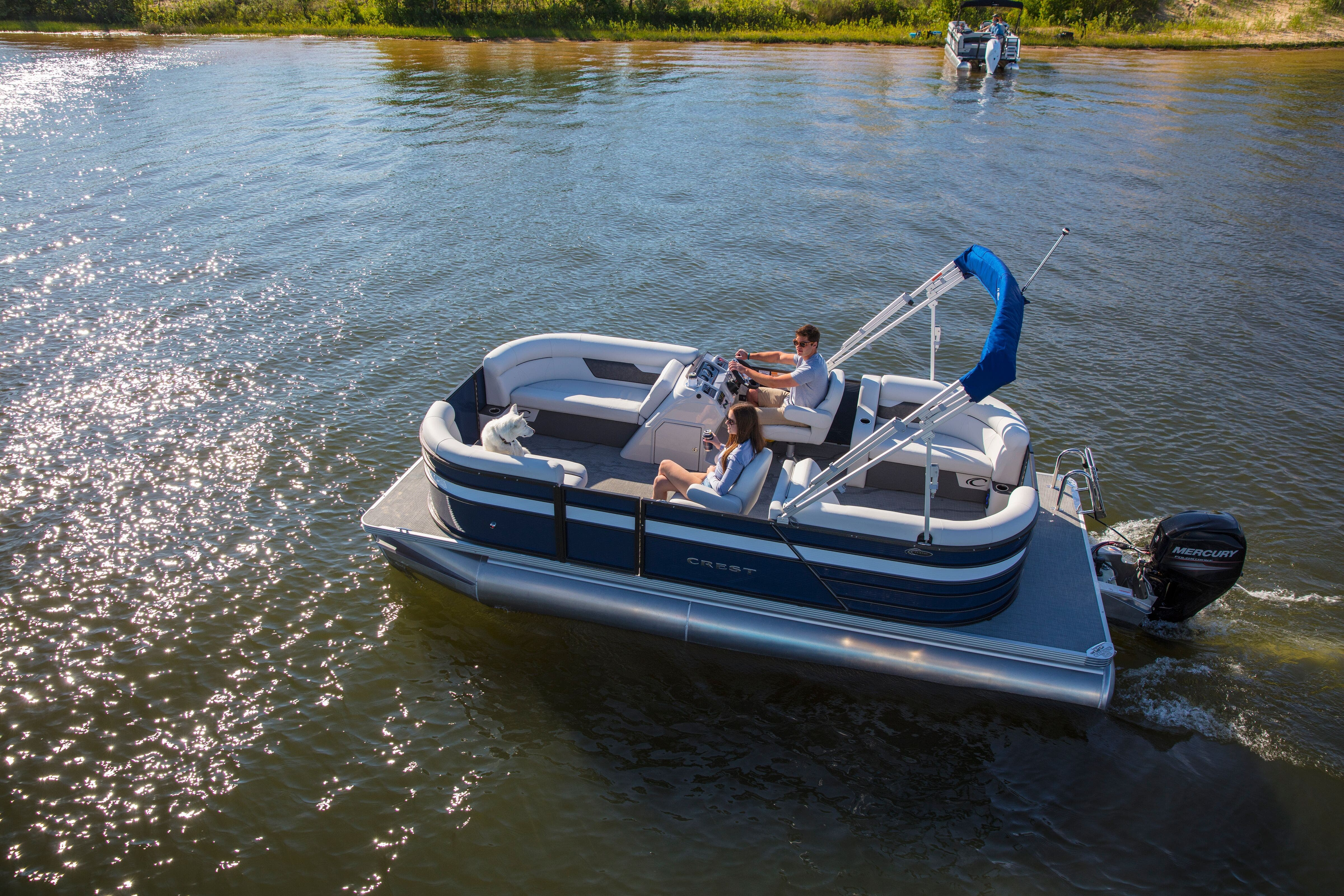 2021 Crest boat for sale, model of the boat is Classic LX & Image # 15 of 15