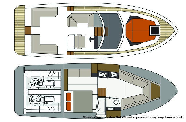 2021 Cruisers Yachts boat for sale, model of the boat is 390EXPRESSCOUPE & Image # 20 of 20