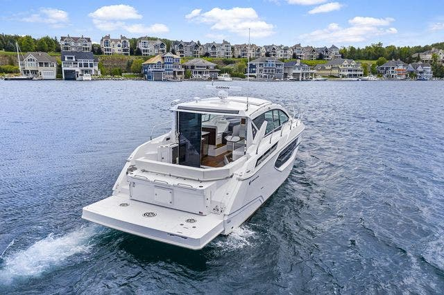 2021 Cruisers Yachts boat for sale, model of the boat is 42 CANTIUS & Image # 11 of 35