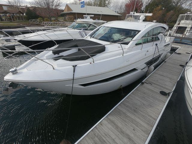 2021 Cruisers Yachts boat for sale, model of the boat is 46CANTIUS & Image # 4 of 23