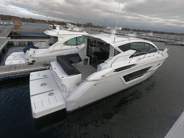 2021 Cruisers Yachts boat for sale, model of the boat is 46CANTIUS & Image # 5 of 23