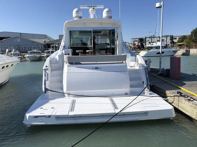2021 Cruisers Yachts boat for sale, model of the boat is 54CANTIUS & Image # 3 of 60