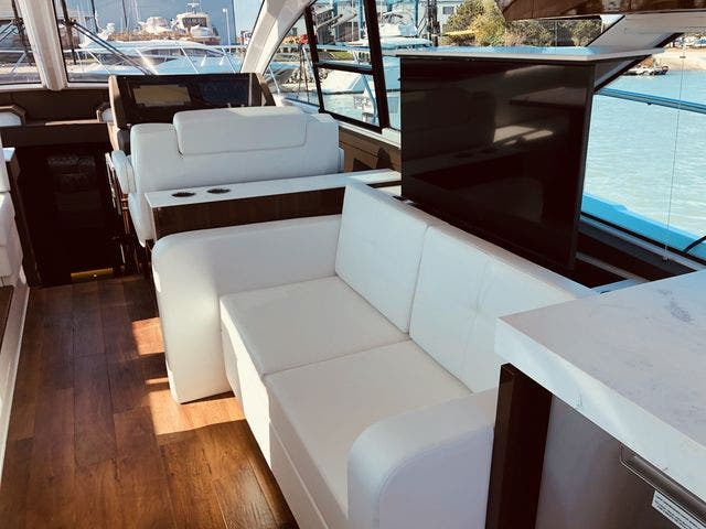 2021 Cruisers Yachts boat for sale, model of the boat is 54CANTIUS & Image # 49 of 60